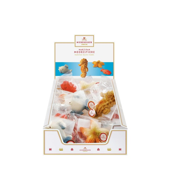 Niederegger - Marzipan Meerestiere Confiserie Süßwaren - 25g