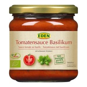 Eden Bio Tomatensauce Basilikum 350ml