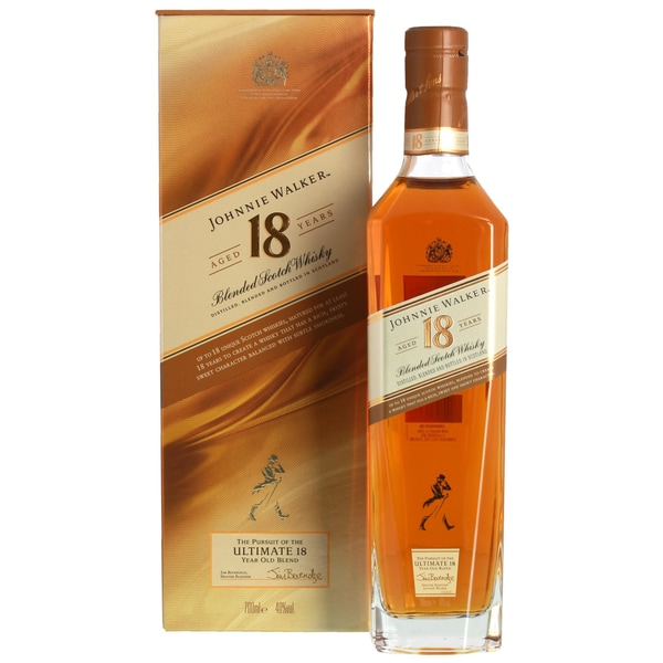 Johnnie Walker Aged 18 Years Blended Scotch Whisky 40% vol 0,7l