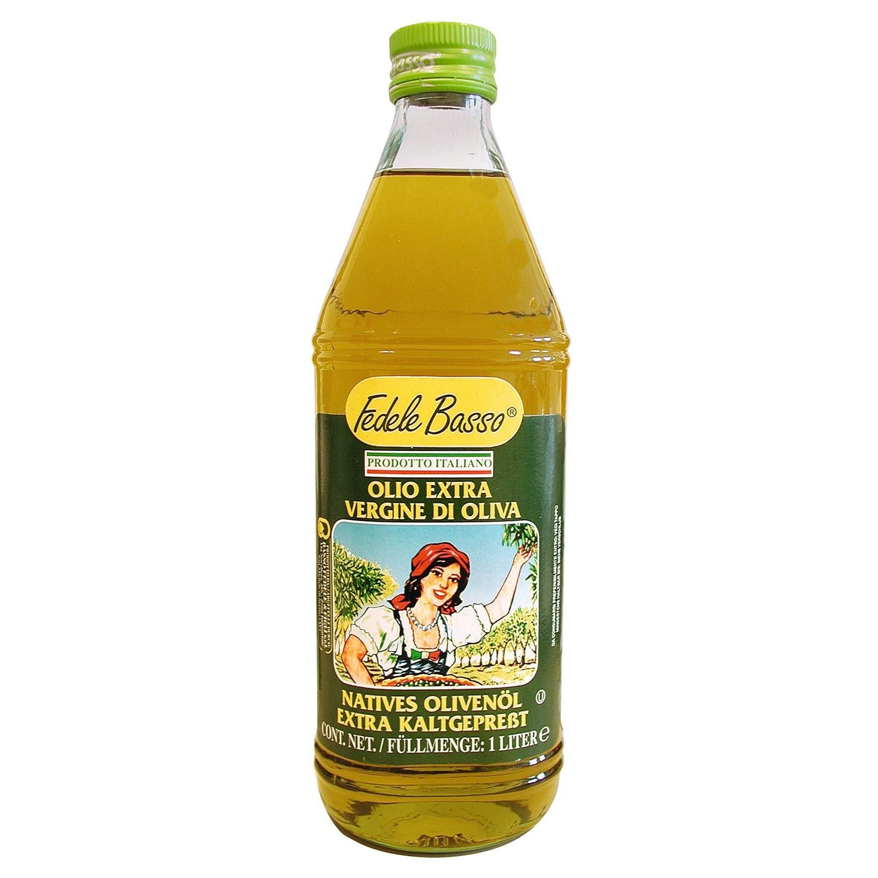 Basso - Natives Olivenöl Extra kaltgepresstes Speiseöl - 1l