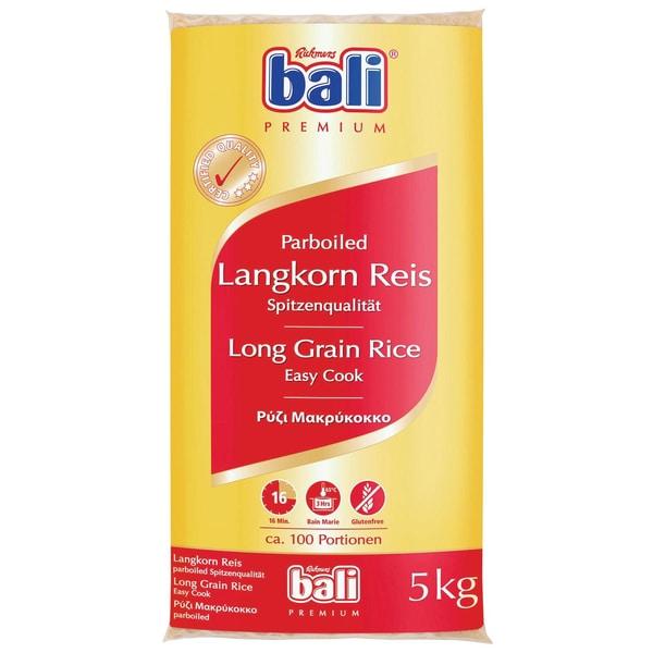 bali Premium Langkorn Reis parboiled 5kg