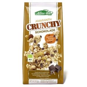 Allos Bio Amaranth Crunchy Schokolade 400g