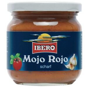 Ibero Mojo Rojo Gewürzsauce rot 185ml scharf