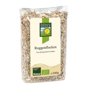 Bohlsener Mühle Bio Roggenflocken 500g