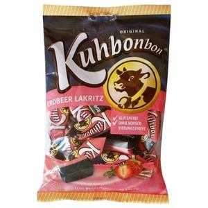 Kuhbonbon - Erdbeer Lakritz Süßwaren - 200g