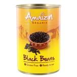 Amaizin Bio schwarze Bohnen Mexiko Südamerika Black Beans 240g