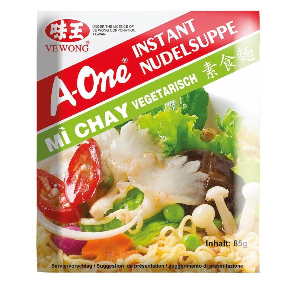 A-One - Instantnudelsuppe vegetarisch - 85g