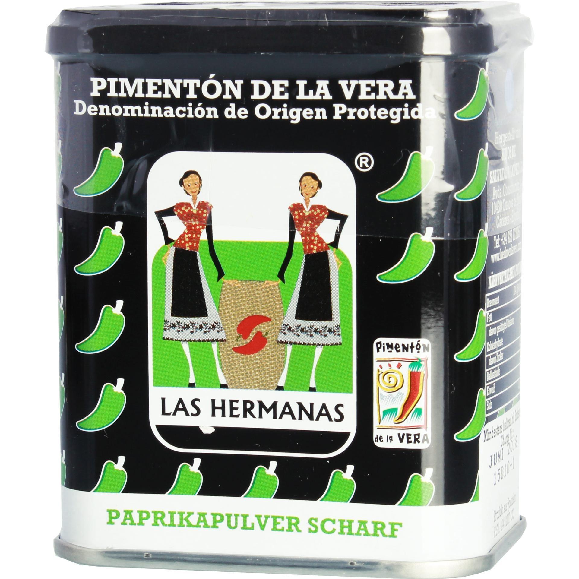 Las Hermanas - Paprikapulver scharf - 80g