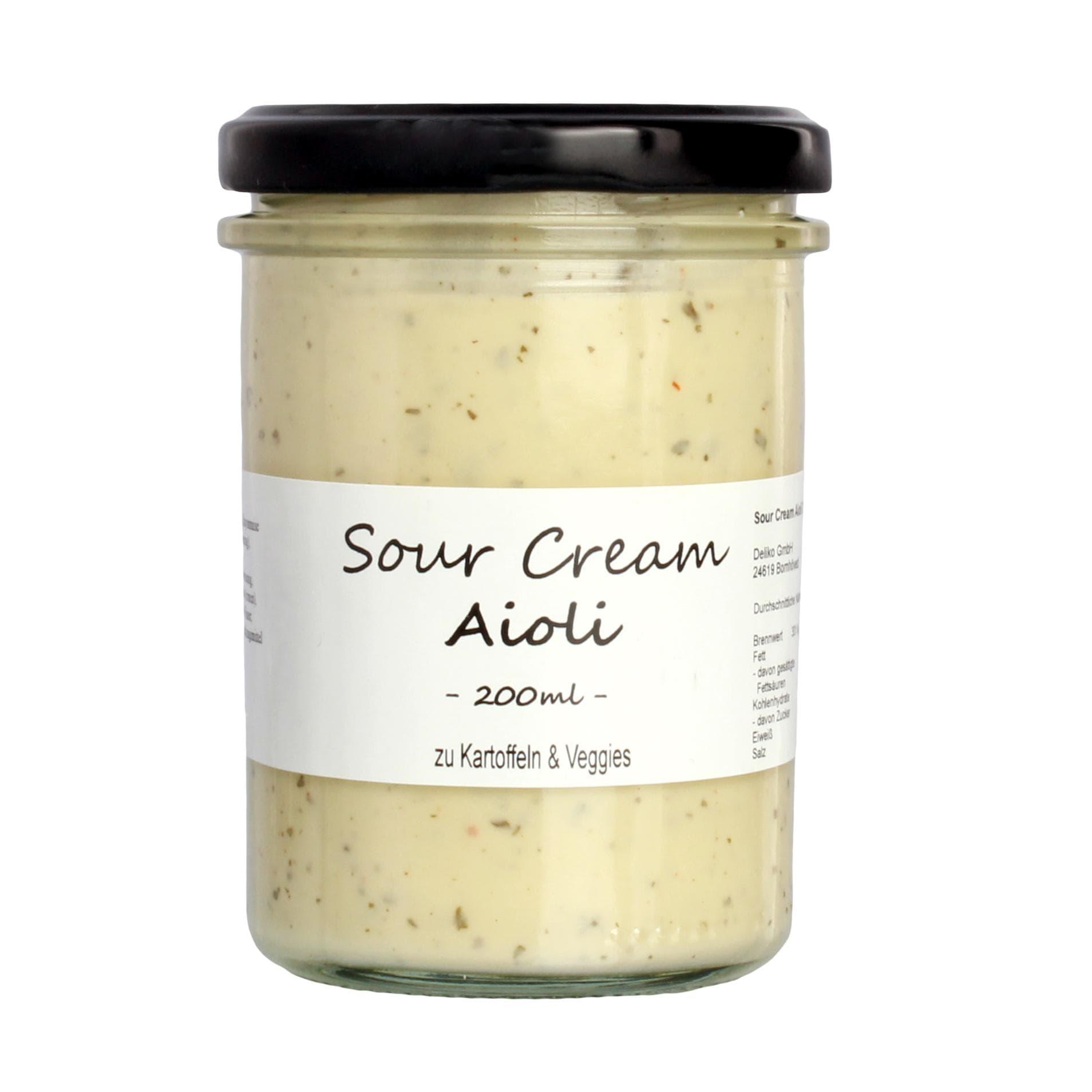 Gut Lindau - Sour Cream Aioli Sauce Dip - 200ml