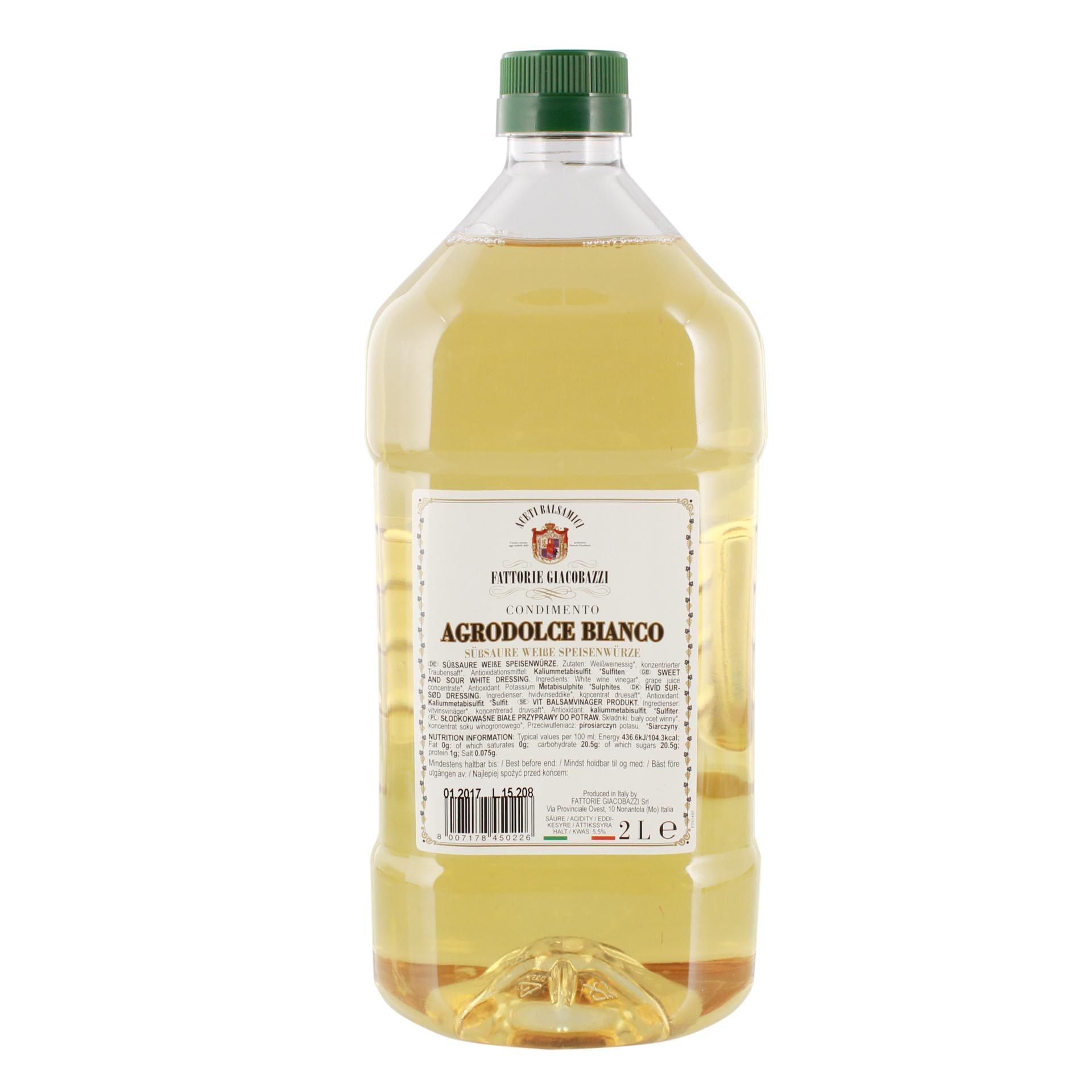 Fattorie Giacobazzi - Condimento Bianco Essig - 2l
