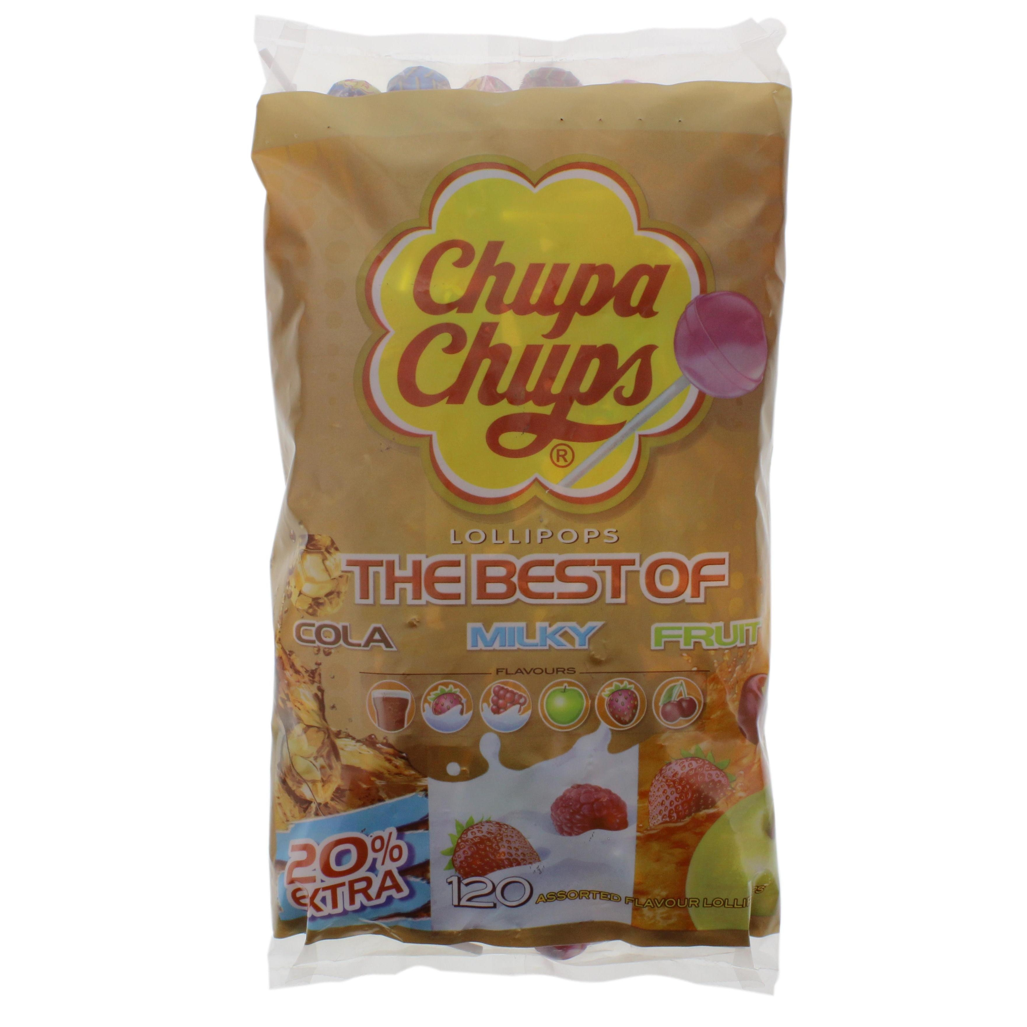 Chupa Chups - The Best Of Nachfüllb. 120St - 1440g