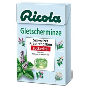 Ricola Gletscherminze Kräuterbonbons Zuckerfrei 50g
