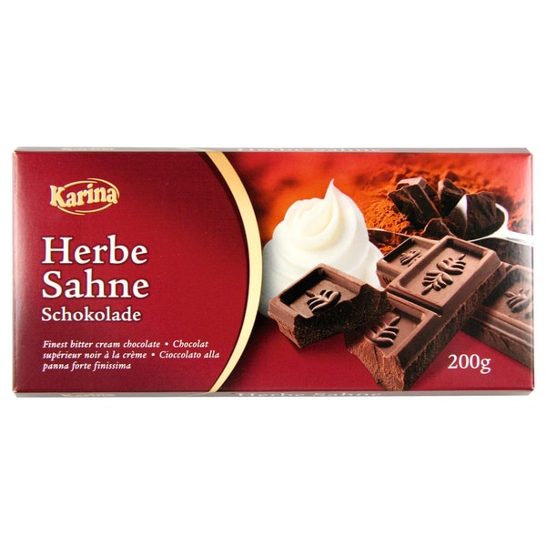 Karina Herbe Sahne Schokolade 200g