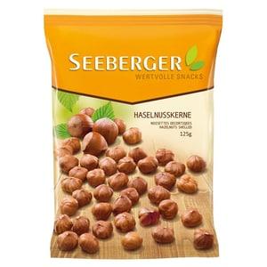 Seeberger - Haselnusskerne Snack Knabberei Nascherei Tüte Studentenfutter Backzutat - 125g