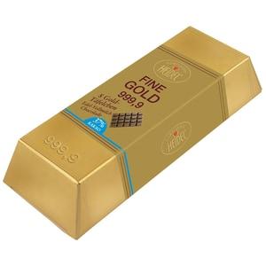 Heidel Großer Goldbarren Vollmilch 8 Stück, 80g
