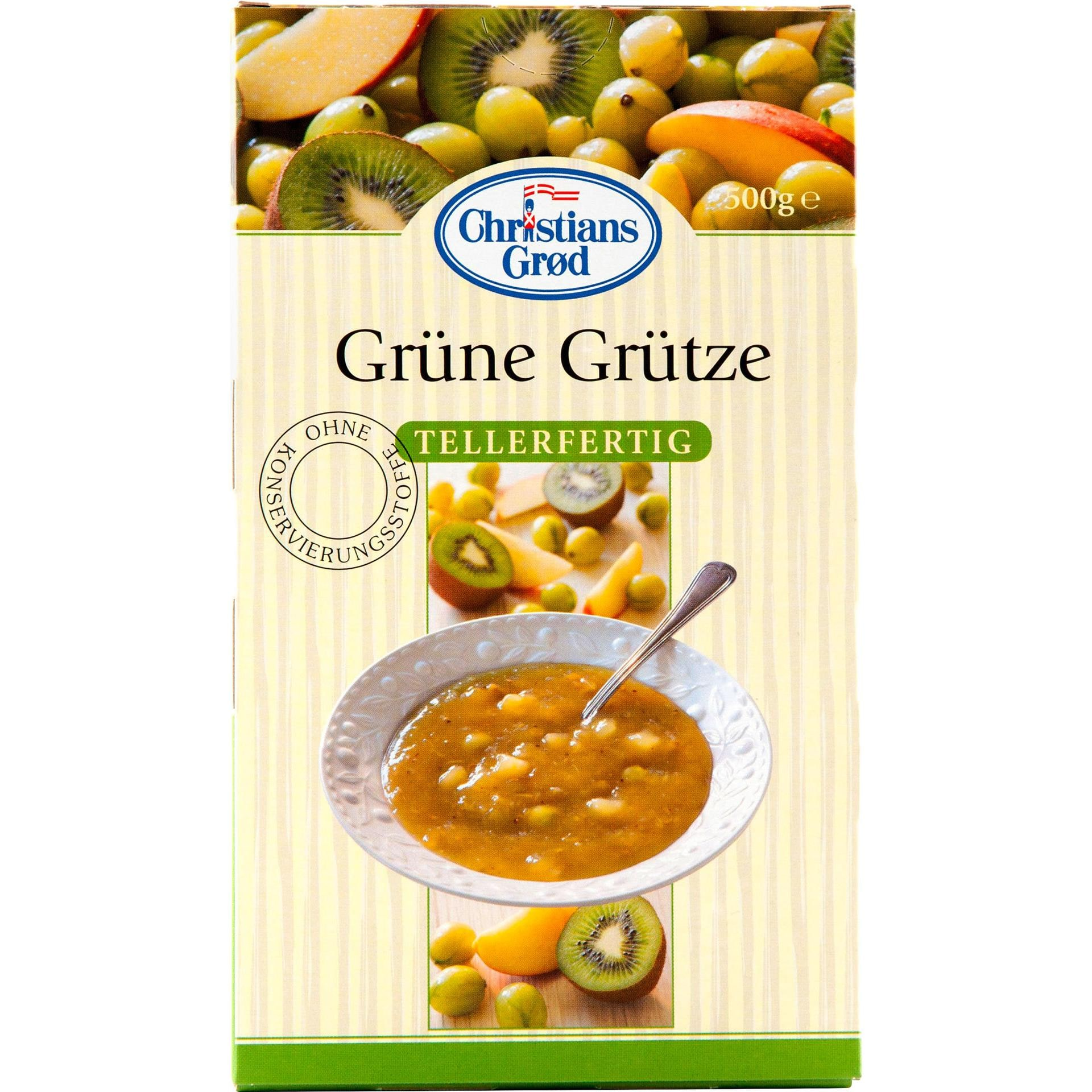 Christians Grod - Grüne Grütze - 500g