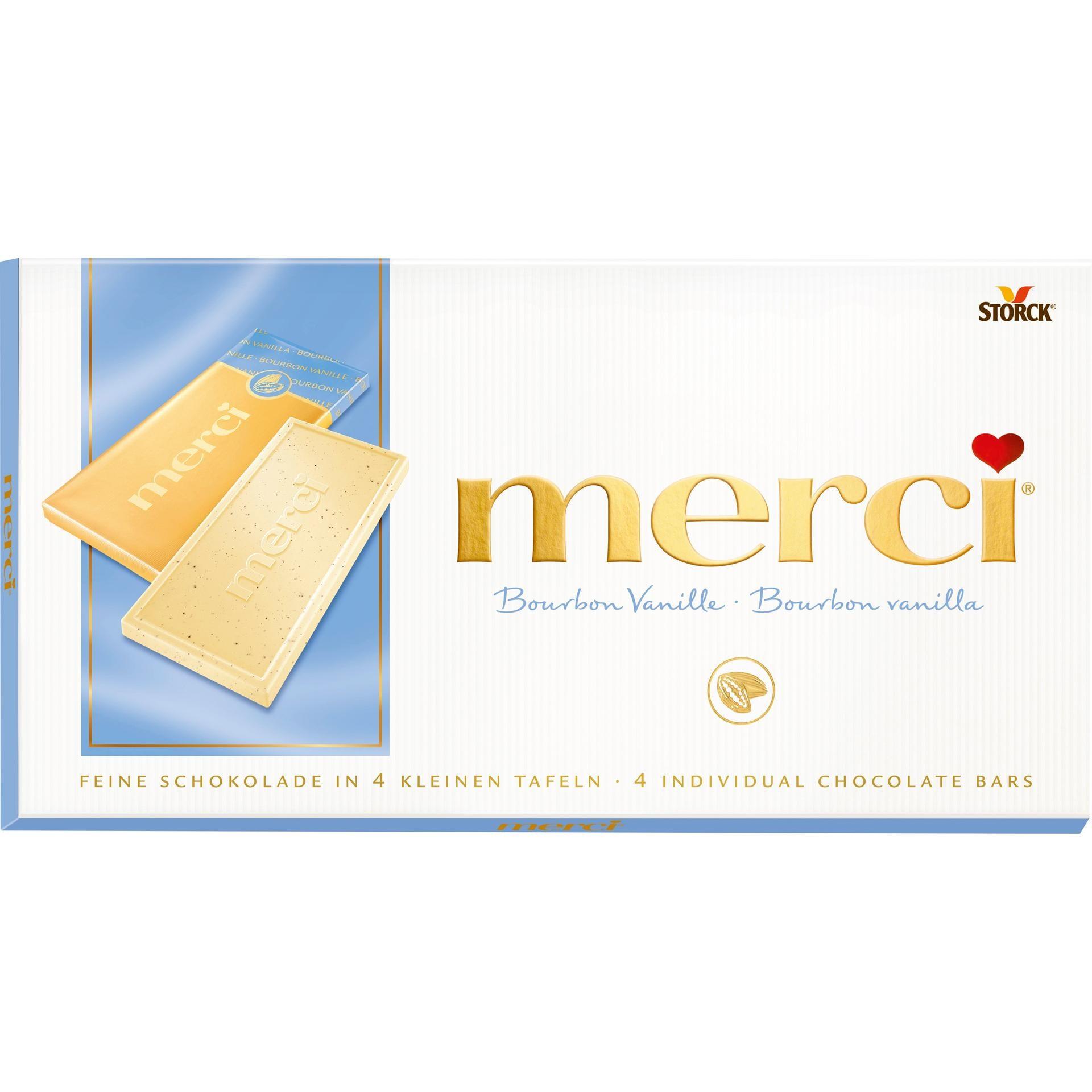 Merci - Bourbon Vanille Tafelschokolade - 100g