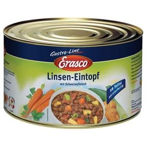 Erasco - Linsen Eintopf mit Schweinefleisch - 4,6kg