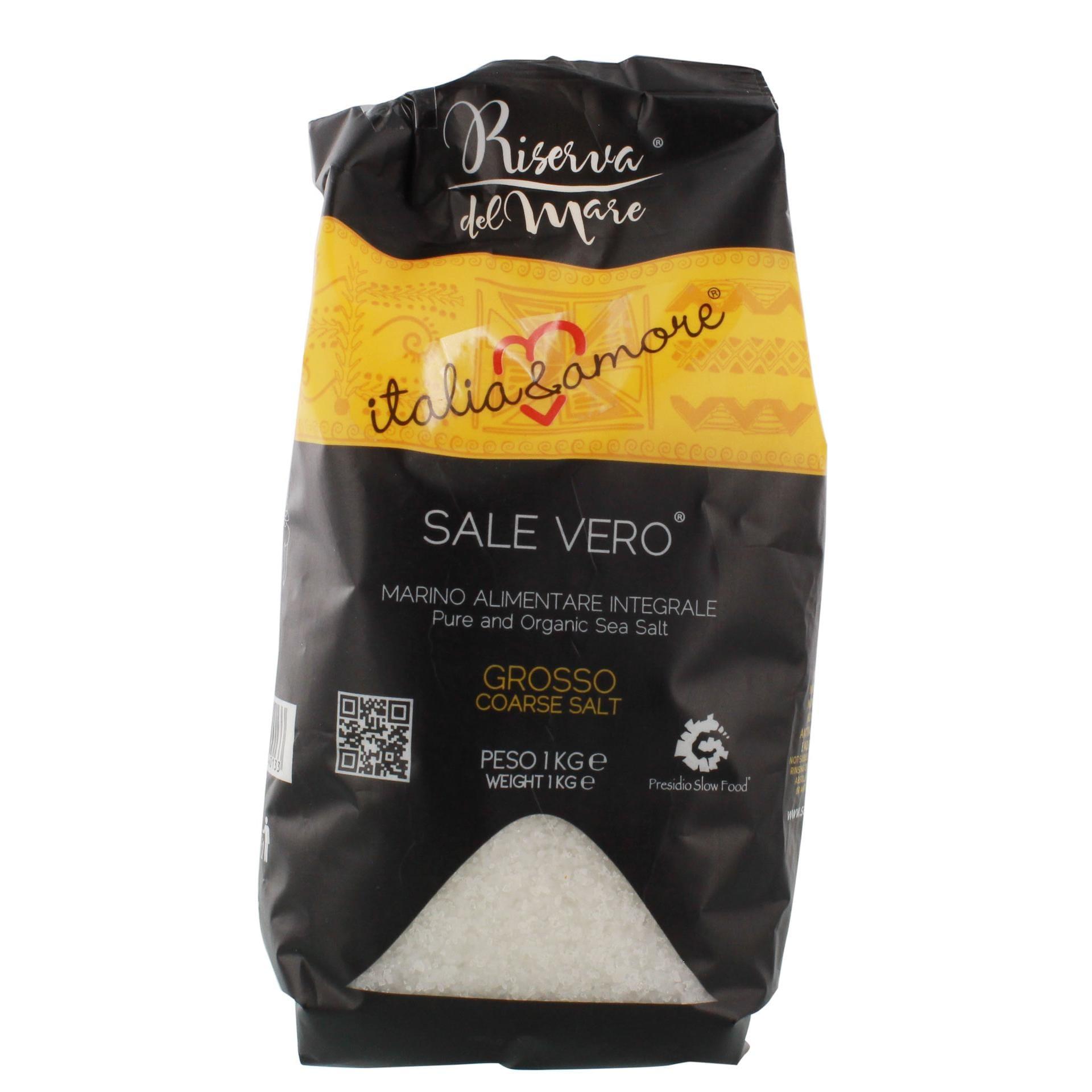 Riserva del Mare - Sale Vero Meersalz grob - 1kg