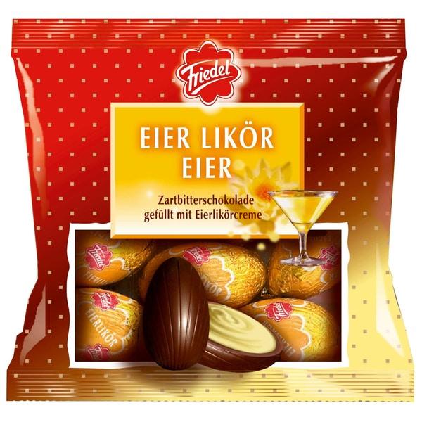 Friedel Eierlikör Eier Zartbitterschokolade 100g