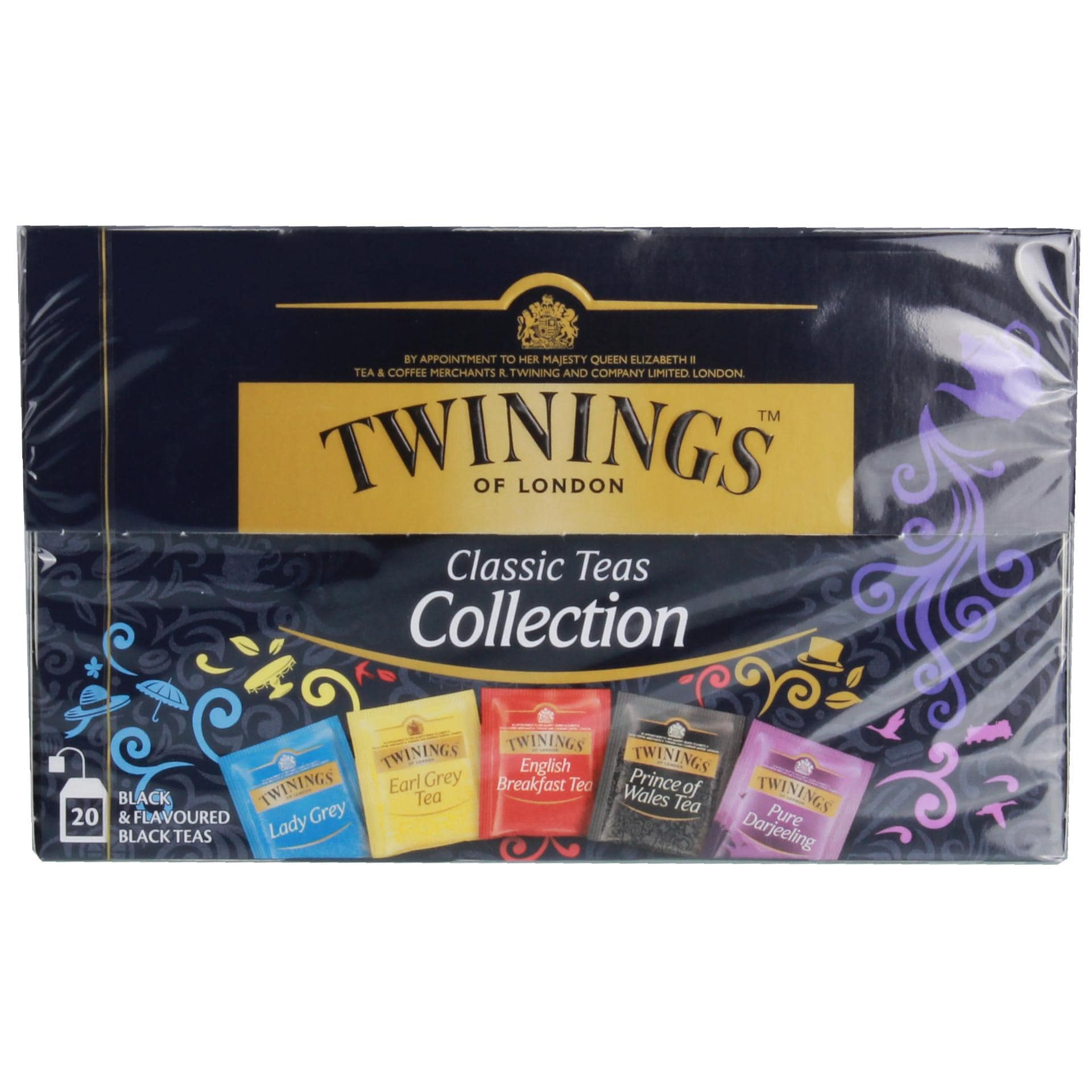Twinings of London Collection Pack Beuteltee 20Bt/50g