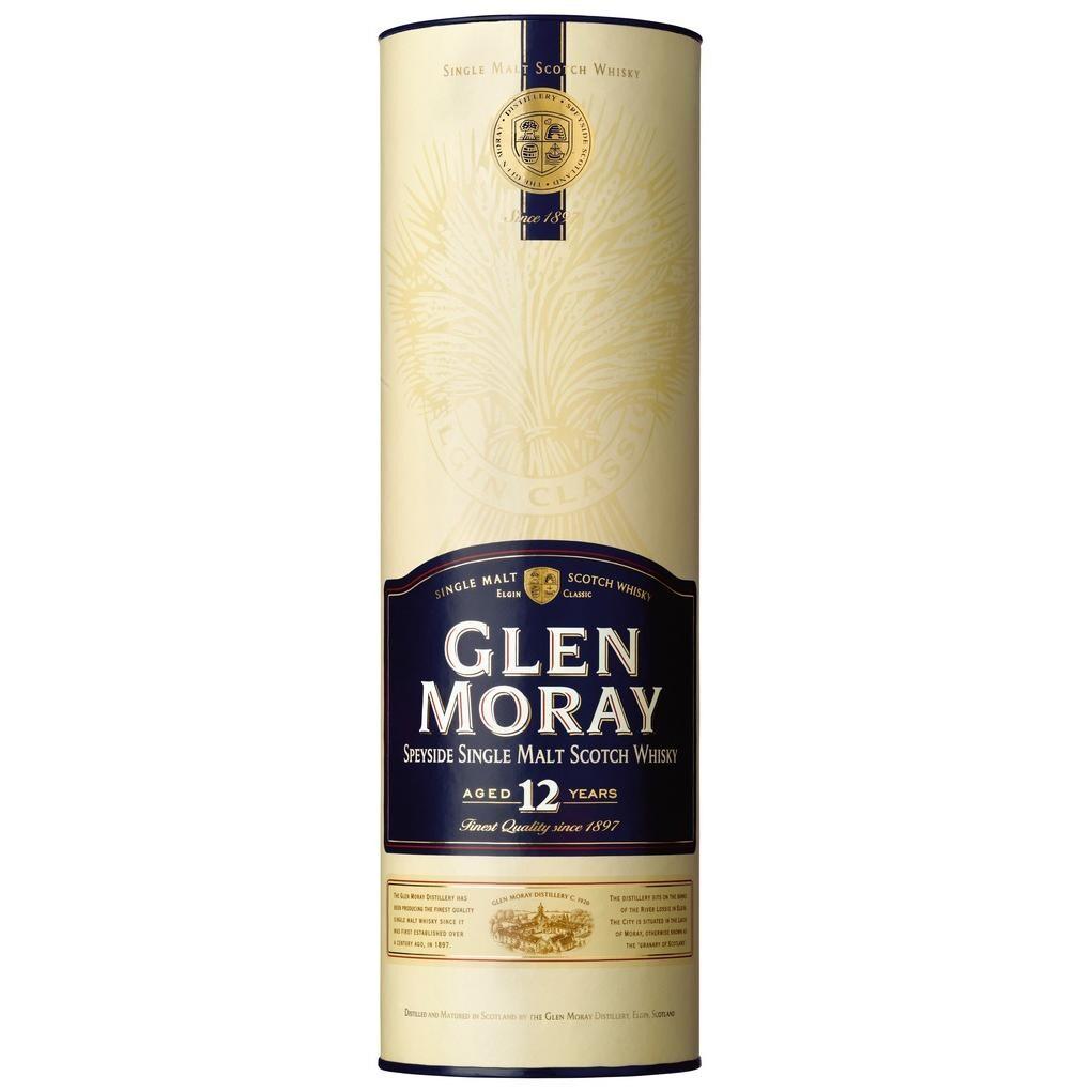 Glen Moray Speyside Single Malt Scotch Whisky 12 Jahre 0,7l