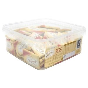 Feodora Choco Big Box Täfelchen Edelbitter 100 Stück, 750g
