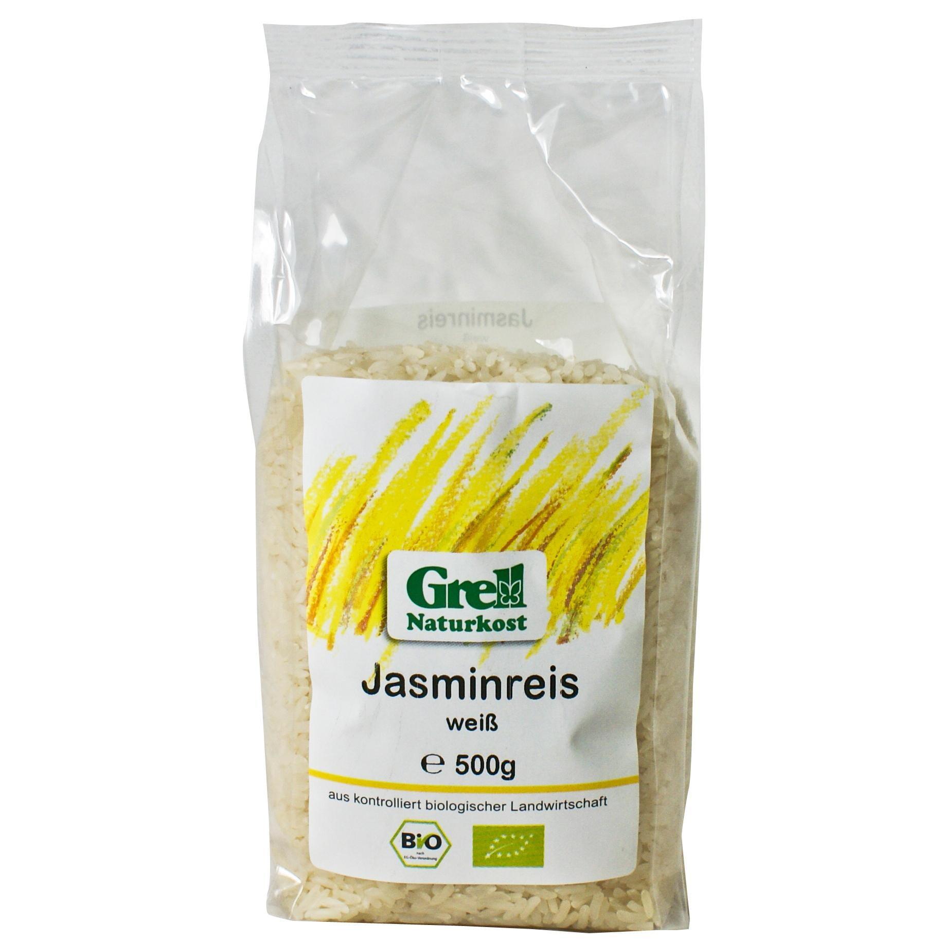 Grell Bio Jasminreis weiß 500g
