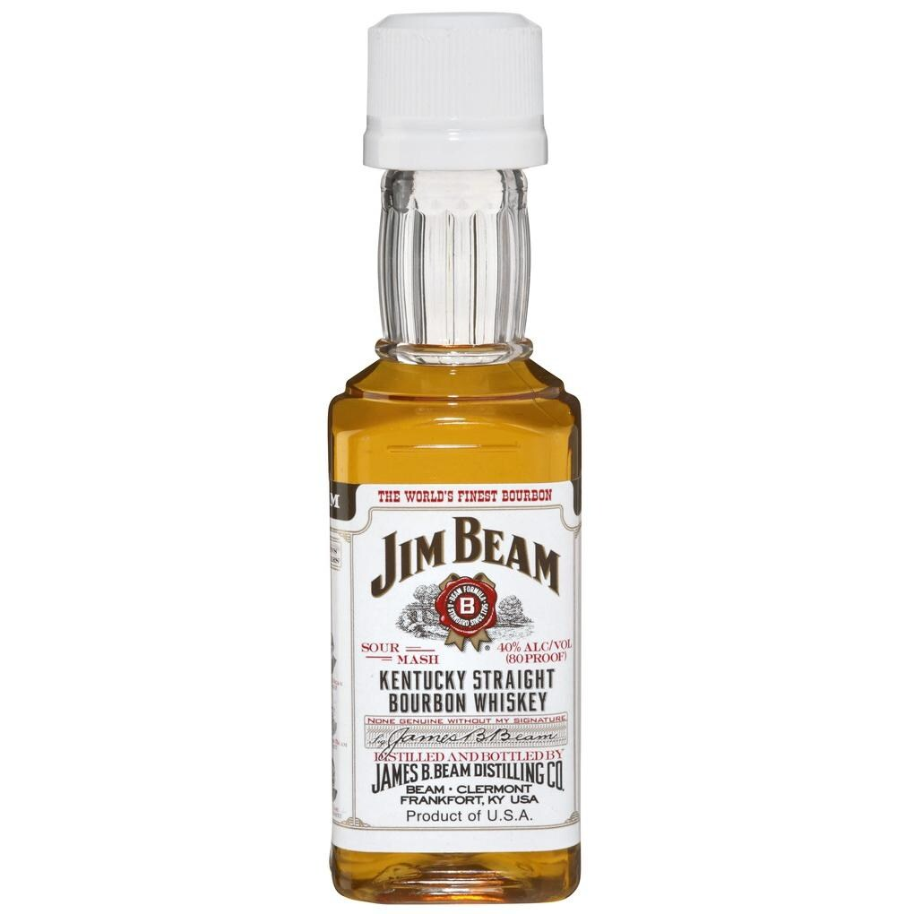 Jim Beam Kentucky Straight Bourbon Whiskey 12x0,05l