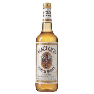 MacLoud Blended Scotch Whisky 3 Years Old 0,7l
