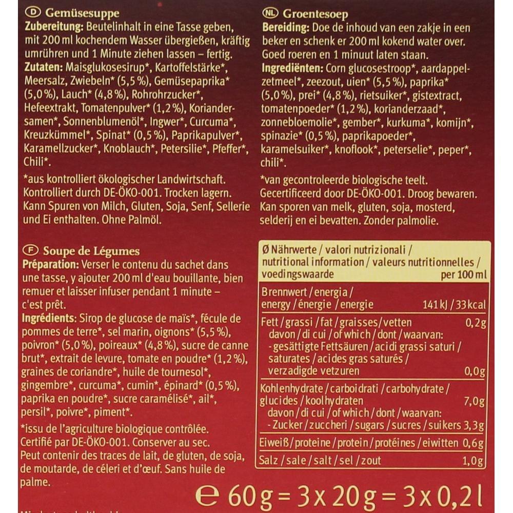 Natur Compagnie Bio Asia Stlye Fixe Tase Instant Soup 60g