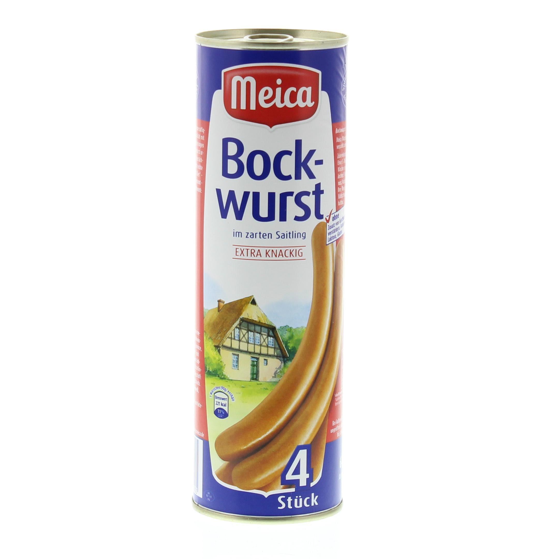 Meica Bockwurst 4 St 360g/640g