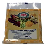 NGR - Madras Curry-Pulver - 100g