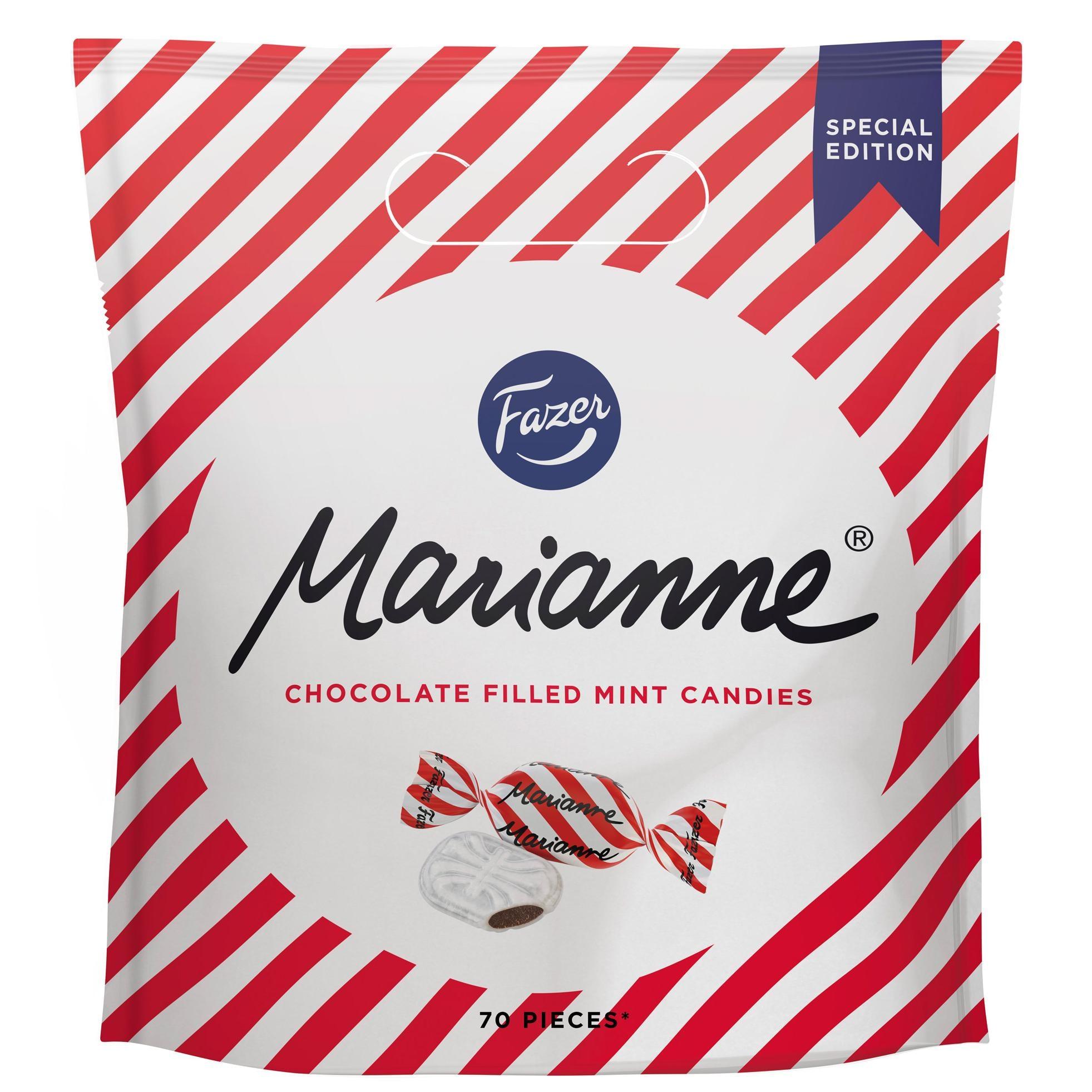 Fazer Marianne Minzbonbons mit Schokolade 70St/350g