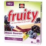Schwartau fruity Blaue Beeren mit Brombeer-Heidelbeer-Holunder 6x24g
