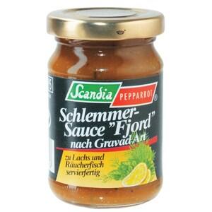 "Scandia Pepparrot - Schlemmer-Sauce ""Fjord"" nach Gravad Art - 85ml"