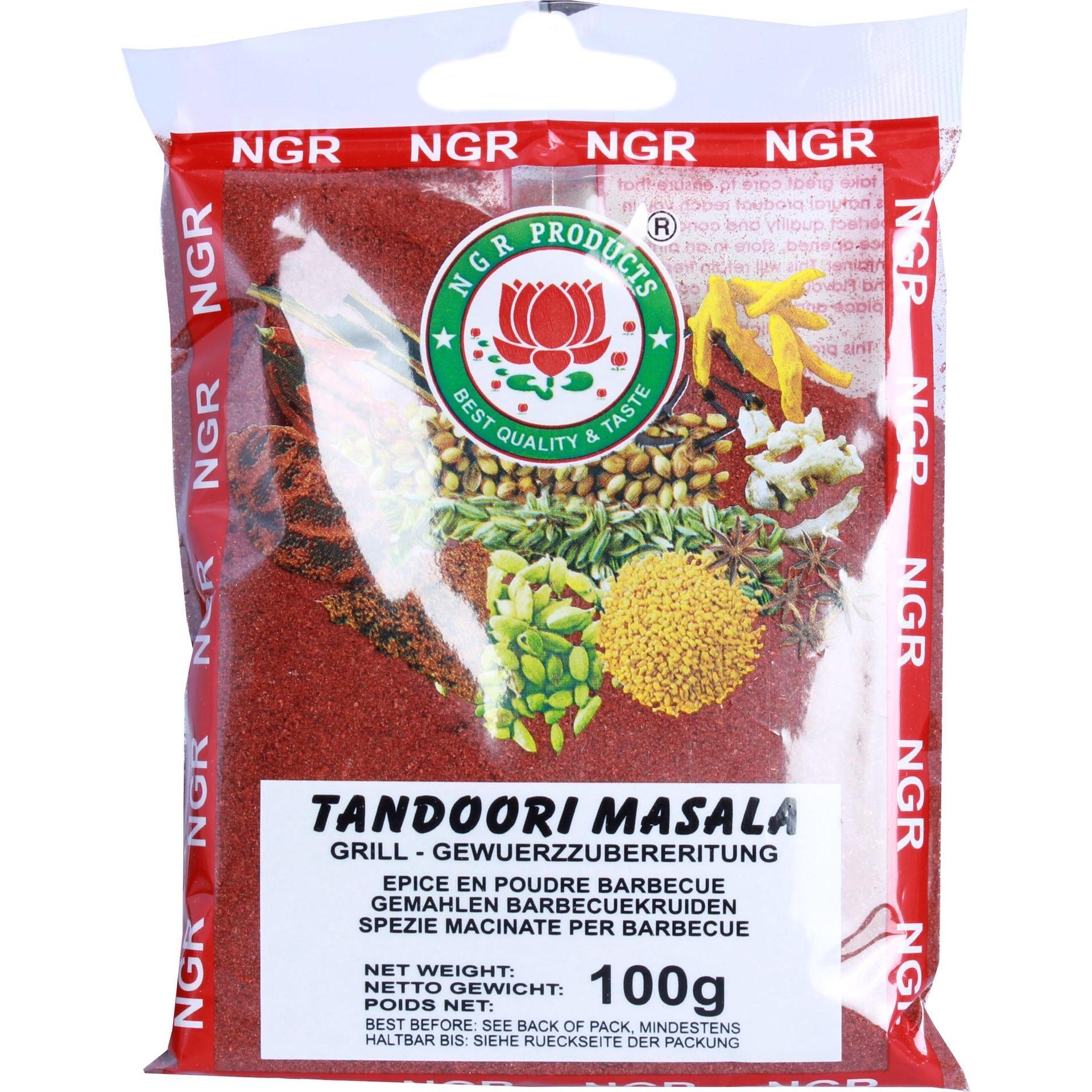 NGR Products - Tandoori Masala Gewürzmischung Gewürzzubereitung - 100g
