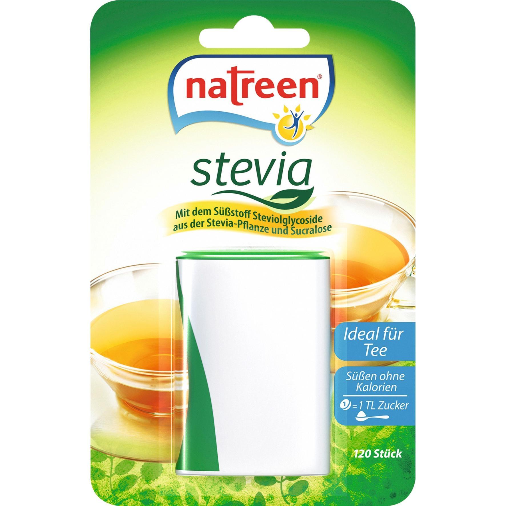 Natreen - Stevia Tafelsüße - 120St/7,7g