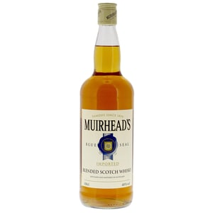 Muirhead's Blue Seal Scotch Whisky 1l