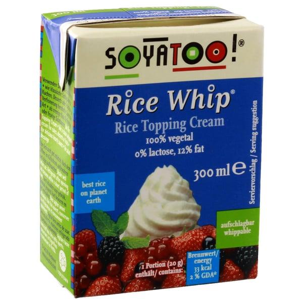 Soyatoo Rice Whip Schlagcreme 300ml