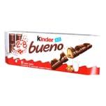 Kinder - bueno 8x2 Riegel Schokoladenriegel Waffel mit Schokolade und Milchhaselnusscreme - 344g