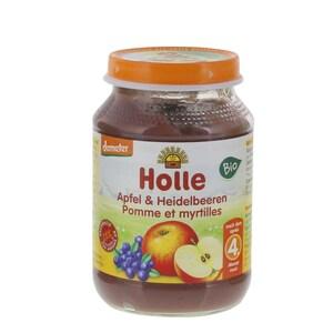 Holle Apfel und Heidelbeeren Bio Babybrei 190g