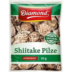 Diamond Shiitake Pilze getrocknet 50g