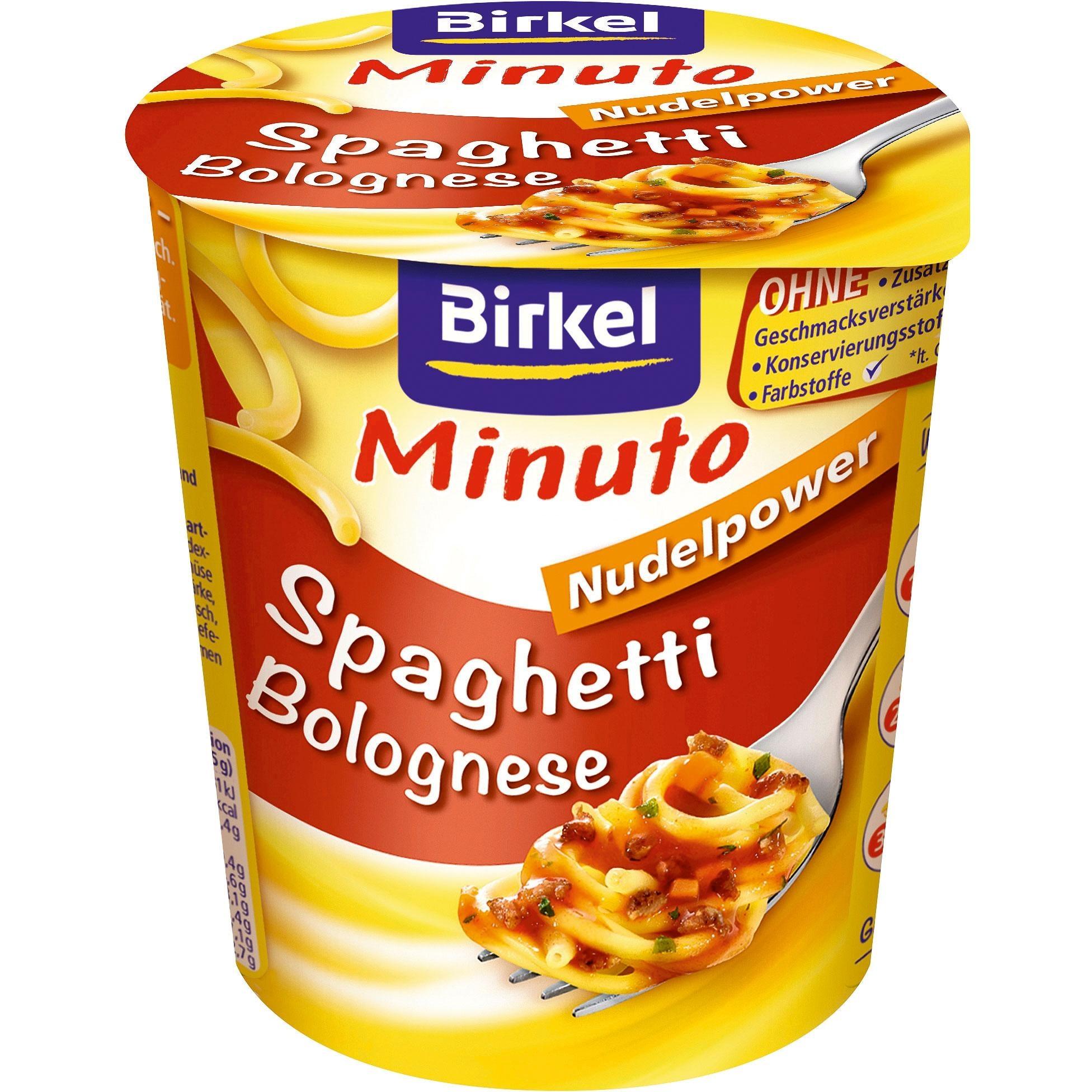Birkel - Minuto Spaghetti Bolognese - 59,5g