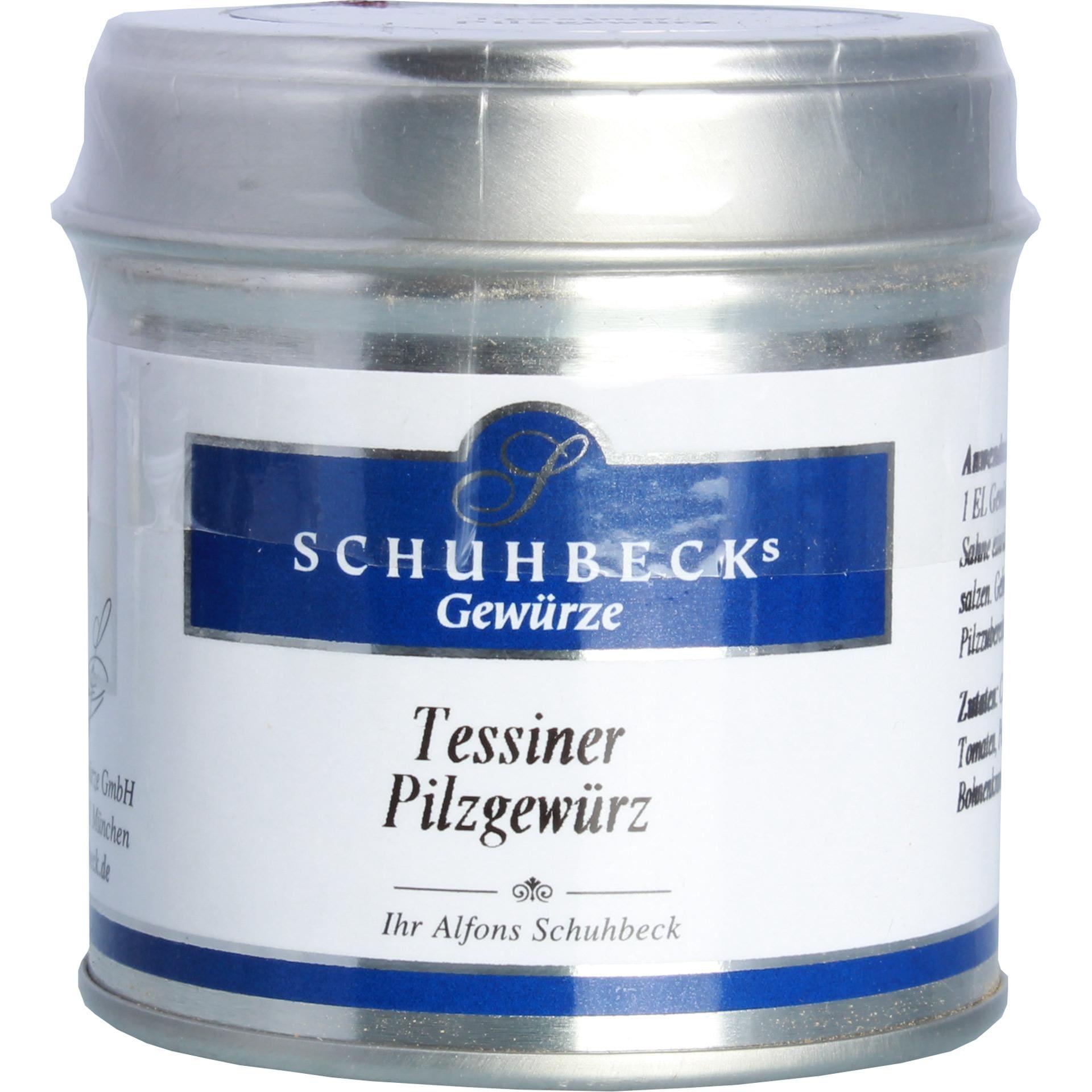 Schuhbeck's Tessiner Pilzgewürz - 45g