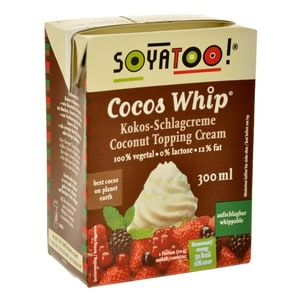 Soyatoo Cocos Whip Schlagcreme 300ml