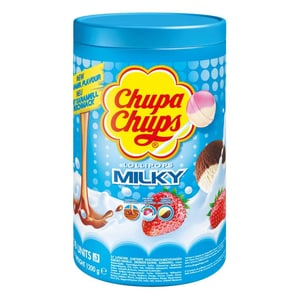 Chupa Chups Milky Lutscher Lollies 100St