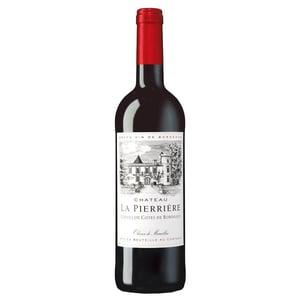 Château La Pierrière Côtes de Castillon AOP Rotwein trocken 12% 0,75l