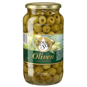 Royal Del Sol Oliven grün ohne Stein 400g