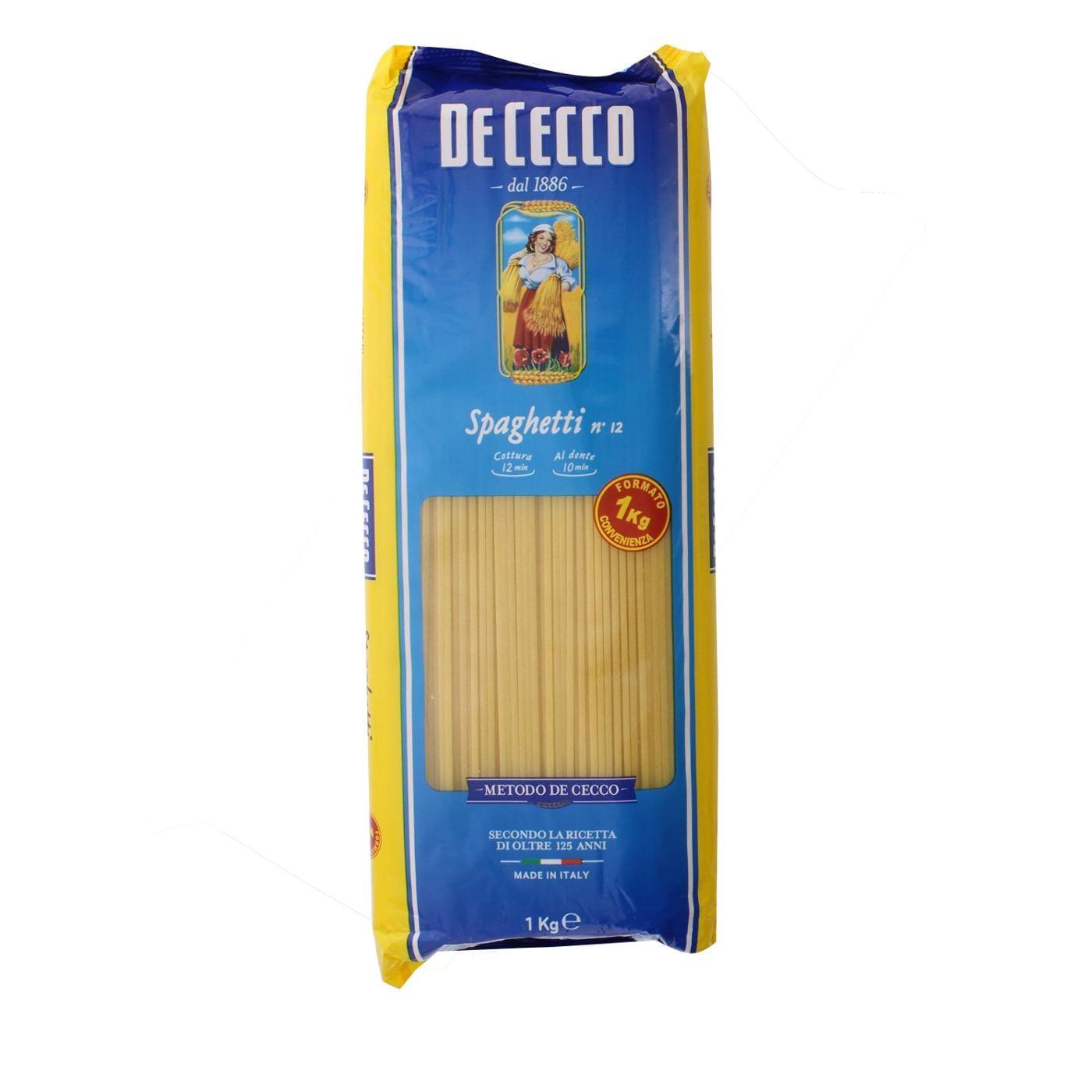 De Cecco - Spaghetti Nr.12 Pasta Nudeln - 1kg